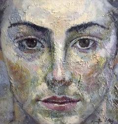 1-11-16 - 21st Century, Contemporary, Portrait Painting, Oil on Canvas