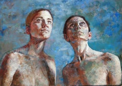 1-12-08 - 21st Century, Contemporary, Portrait, Nude Painting, Oil on Canvas