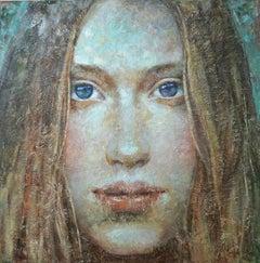 1-12-15 - 21st Century, Contemporary, Portrait Painting, Oil on Canvas