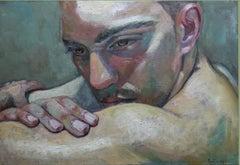 1-4-08 - 21st Century, Contemporary, Portrait Painting, Oil on Canvas