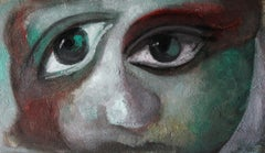 1-5-12 - 21st Century, Contemporary, Portrait Painting, Oil on Canvas
