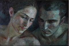 1-6-10 - 21st Century, Contemporary, Portrait Painting, Oil on Canvas