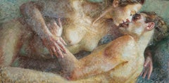 1-7-15 - 21st Century, Contemporary, Nude Painting, Oil on Canvas