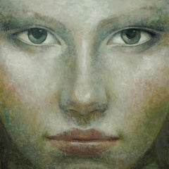1-8-17 - 21st Century, Contemporary, Portrait Painting, Oil on Canvas