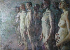 10-11-9 - 21st Century, Contemporary, Nude Painting, Oil on Canvas