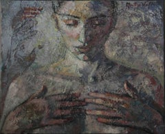 10-2-10 - 21st Century, Contemporary, Nude Painting, Oil on Canvas