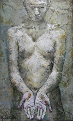 10-4-08 - 21st Century, Contemporary, Nude Painting, Oil on Canvas