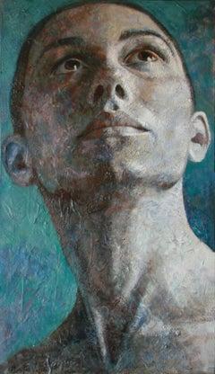 10-4-11 - 21st Century, Contemporary, Portrait Painting, Oil on Canvas