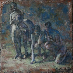 10-9-08 - 21st Century, Contemporary, Nude Painting, Oil on Canvas