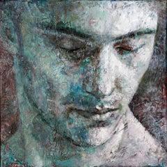11-11-11 - 21st Century, Contemporary, Portrait Painting, Oil on Canvas