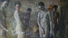 11-4-9 - 21st Century, Contemporary, Nude Painting, Oil on Canvas