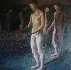11-7-07 - 21st Century, Contemporary, Nude Painting, Oil on Canvas