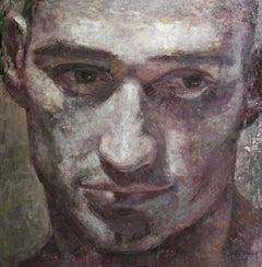 110-7-07 - 21st Century, Contemporary, Portrait Painting, Oil on Canvas