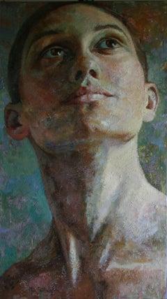 12-9-11 - 21st Century, Contemporary, Portrait Painting, Oil on Canvas