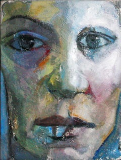 13-1-12 - 21st Century, Contemporary, Portrait Painting, Oil on Canvas