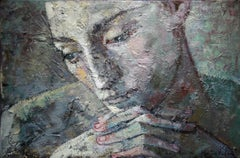 13-4-08 - 21st Century, Contemporary, Portrait Painting, Oil on Canvas