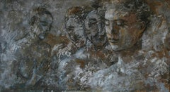 13-4-11 - 21st Century, Contemporary, Nude Painting, Oil on Canvas