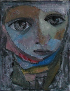 14-1-12 - 21st Century, Contemporary, Portrait Painting, Oil on Canvas