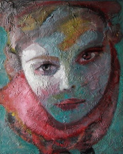 15-1-12 - 21st Century, Contemporary, Portrait Painting, Oil on Canvas