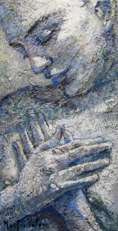 15-4-08 - 21st Century, Contemporary, Nude Painting, Oil on Canvas