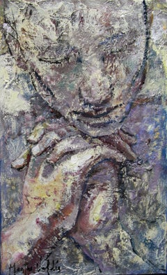 16-4-08 - 21st Century, Contemporary, Portrait Painting, Oil on Canvas