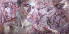 17-4-08 Diptych - 21st Century, Contemporary, Nude Painting, Oil on Canvas