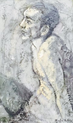 17-8-11 - 21st Century, Contemporary, Nude Painting, Oil on Canvas