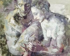 18-8-11 - 21st Century, Contemporary, Nude Painting, Oil on Canvas