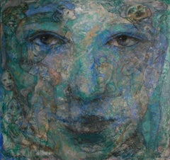 2-1-12 - 21st Century, Contemporary, Portrait Painting, Oil on Canvas