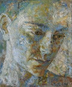2-11-08 - 21st Century, Contemporary, Portrait Painting, Oil on Canvas