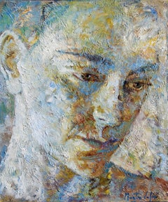 2-11-08 - 21st Century, Contemporary, Portrait Painting, Oil on Canvas