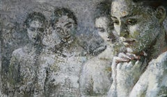 2-11-11 - 21st Century, Contemporary, Nude Painting, Oil on Canvas