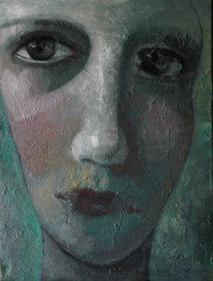 2-5-12 - 21st Century, Contemporary, Portrait Painting, Oil on Canvas