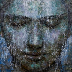 2-5-19 - 21st Century, Contemporary, Portrait Painting, Oil on Canvas, Spiritual