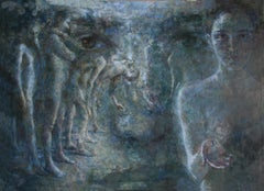 2-6-05 - 21st Century, Contemporary, Nude Painting, Portrait, Oil on Canvas