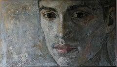 2-6-10 - 21st Century, Contemporary, Portrait Painting, Oil on Canvas