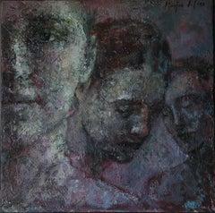 20-6-8 - 21st Century, Contemporary, Portrait Painting, Oil on Canvas