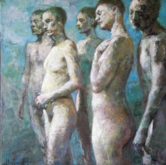 21-6-8 - 21st Century, Contemporary, Nude Painting, Oil on Canvas
