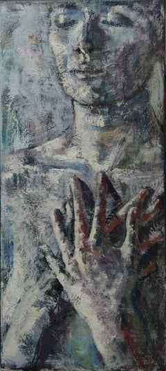 22-6-8 - 21st Century, Contemporary, Nude Painting, Oil on Canvas