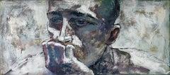 23-6-8 - 21st Century, Contemporary, Portrait Painting, Oil on Canvas