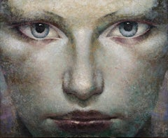 27-3-12f - 21st Century, Contemporary, Portrait Painting, Oil on Canvas