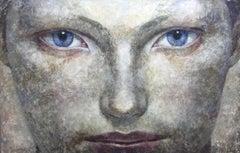27-3-12g - 21st Century, Contemporary, Portrait Painting, Oil on Canvas