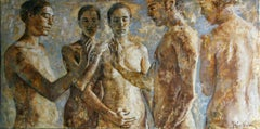27-9-10 - 21st Century, Contemporary, Nude Painting, Oil on Canvas