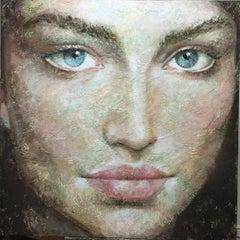 3-1-16 - 21st Century, Contemporary, Portrait Painting, Oil on Canvas