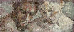 3-10-08 - 21st Century, Contemporary, Portrait Painting, Oil on Canvas