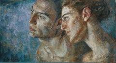3-11-08 - 21st Century, Contemporary, Portrait Painting, Oil on Canvas