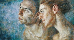 3-11-08 - 21st Century, Contemporary, Portrait Painting, Oil on Canvas