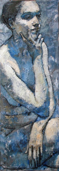3-2-11 - 21st Century, Contemporary, Nude Painting, Oil on Canvas