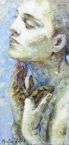 3-4-11 - 21st Century, Contemporary, Portrait Painting, Oil on Canvas