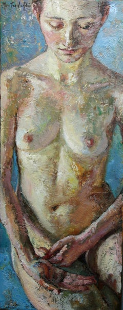 3-4-9 - 21st Century, Contemporary, Nude Painting, Oil on Canvas